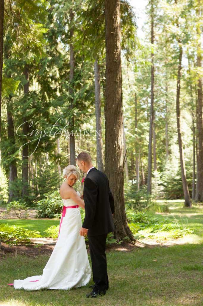 Bride Revealing