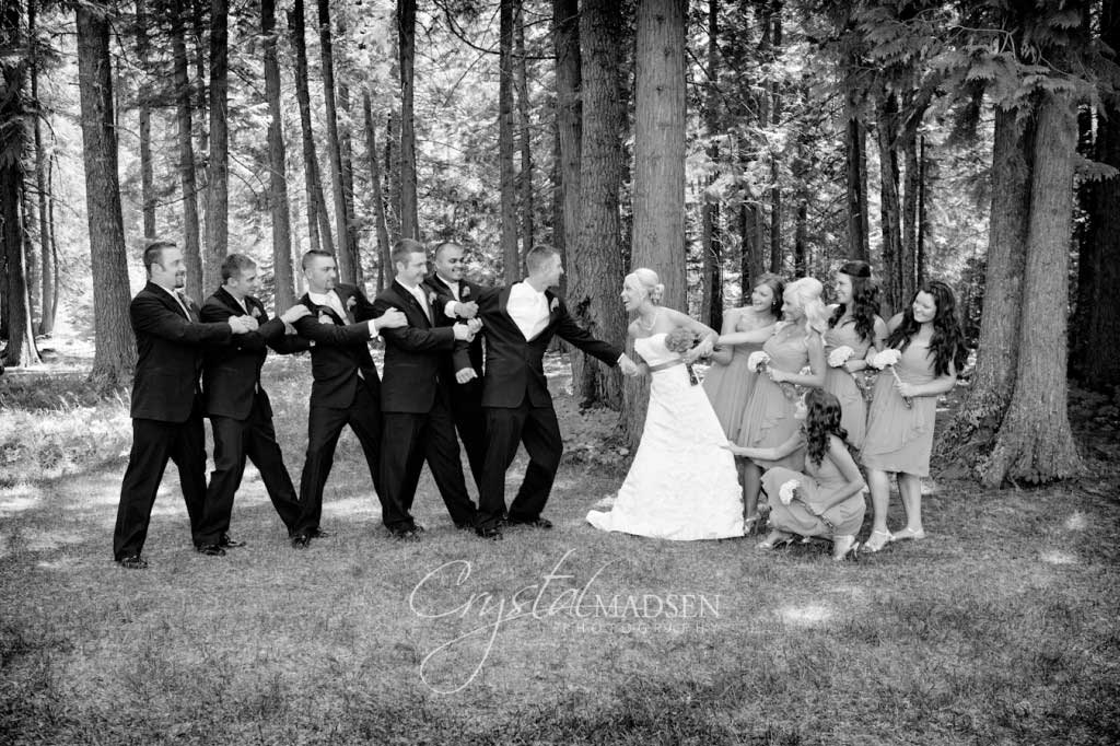 Wedding Tug 'o War
