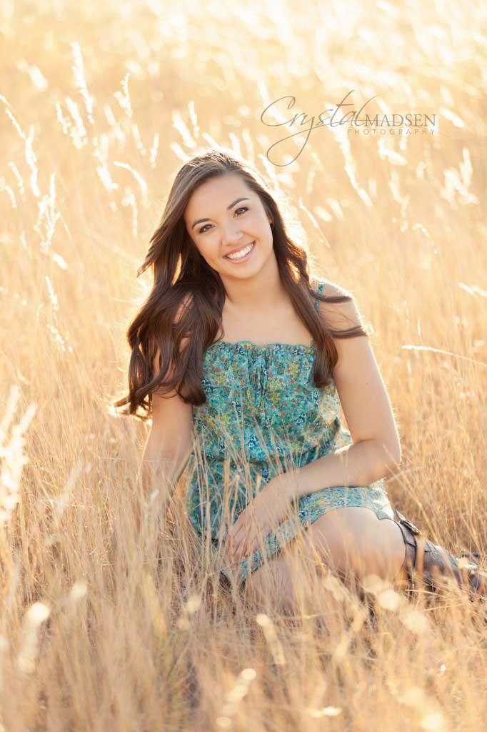 Field Senior Photo Spokane