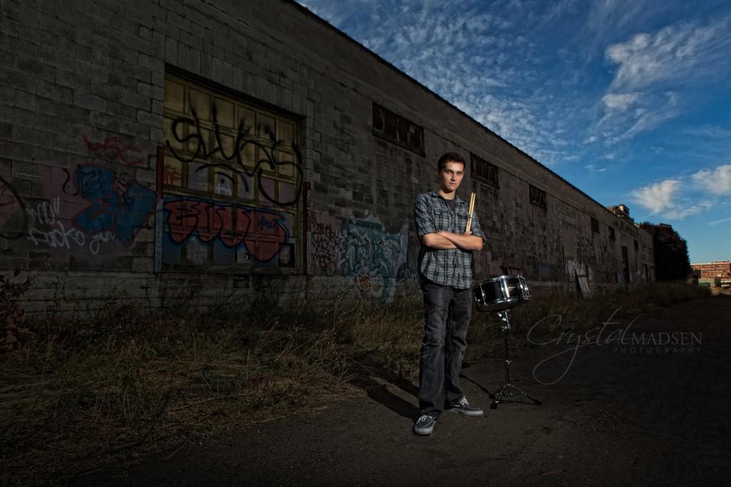 Graffiti and a Drum