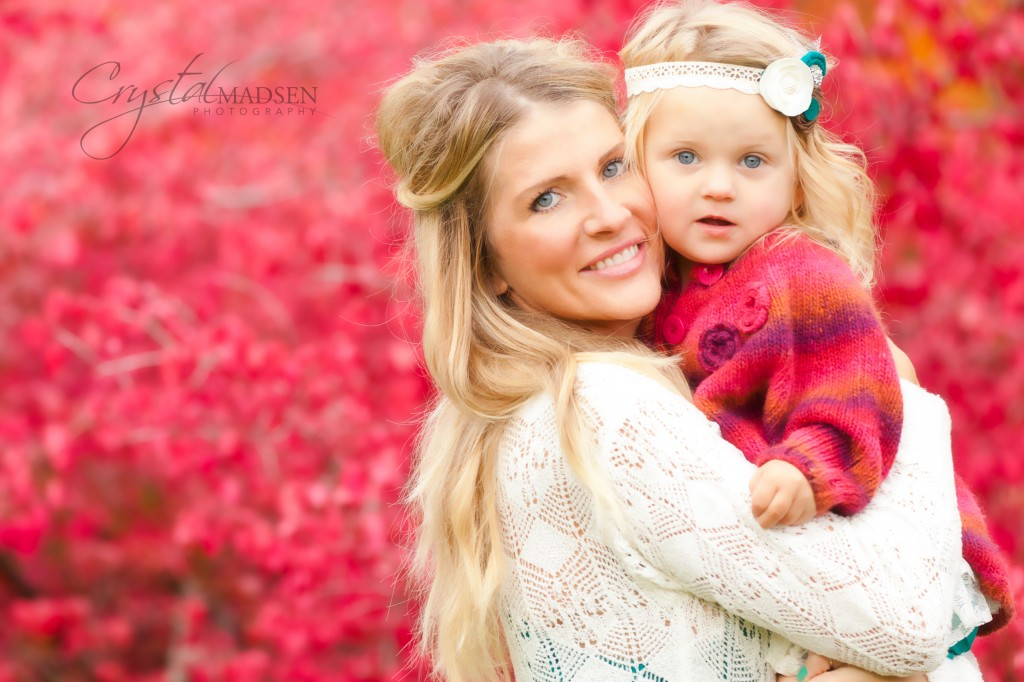 Mommy & Me Fall Photo