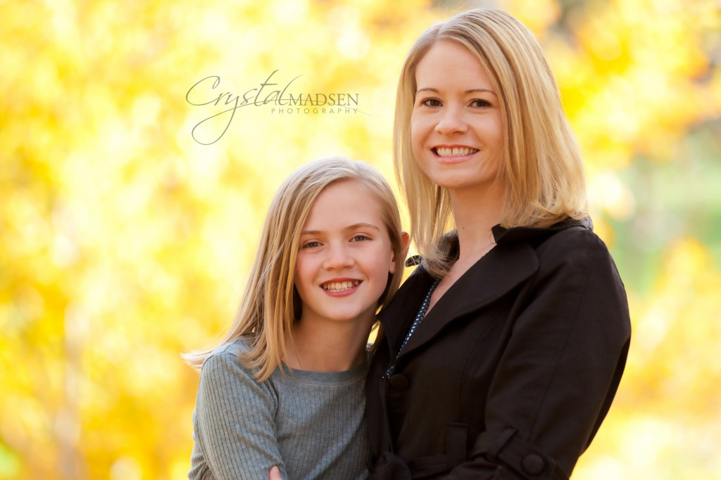 Mother and Daughter Autumn Photos