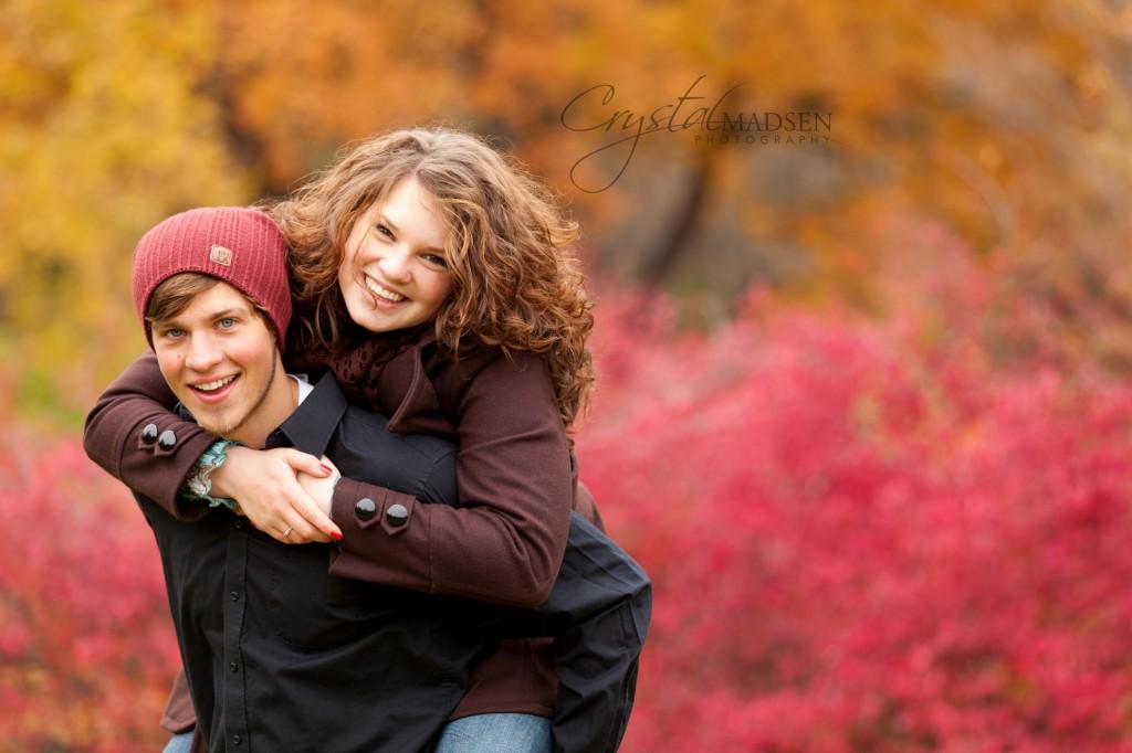 Colorful Engagement Photos Spokane