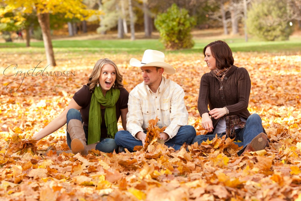 Leaf Fight Photo