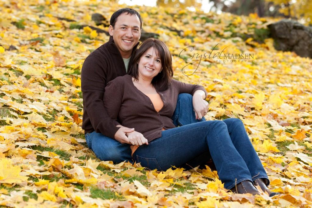 Couples Fall Photos Spokane