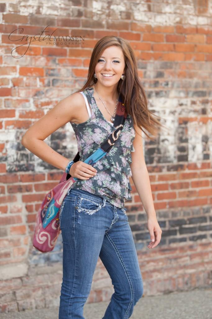Fashion Senior Portrait