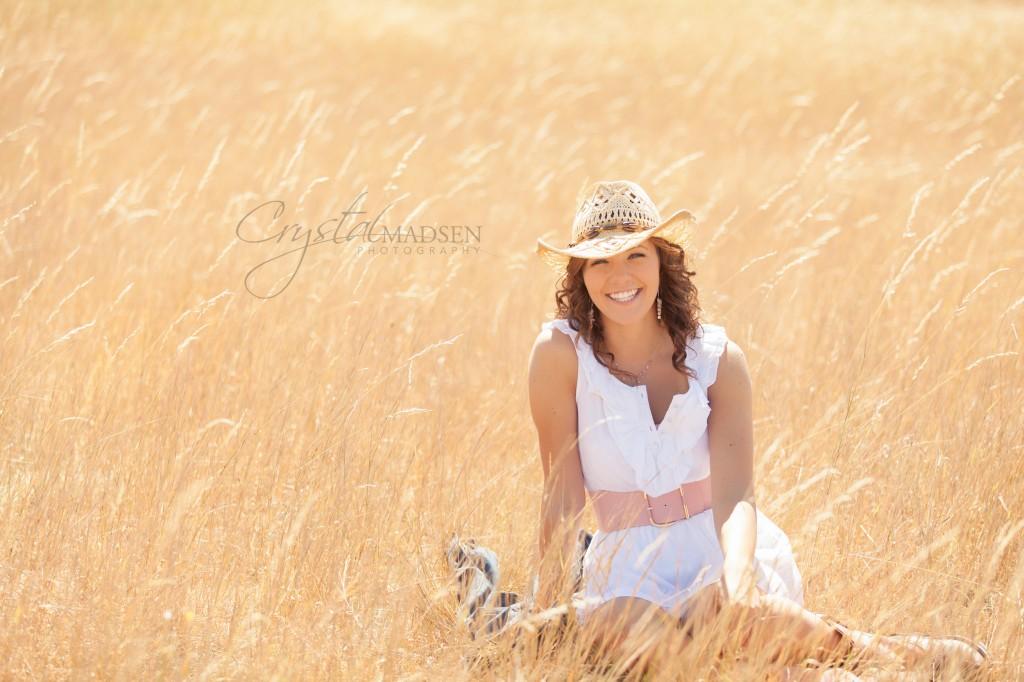Spokane Cowgirl Senior Photo