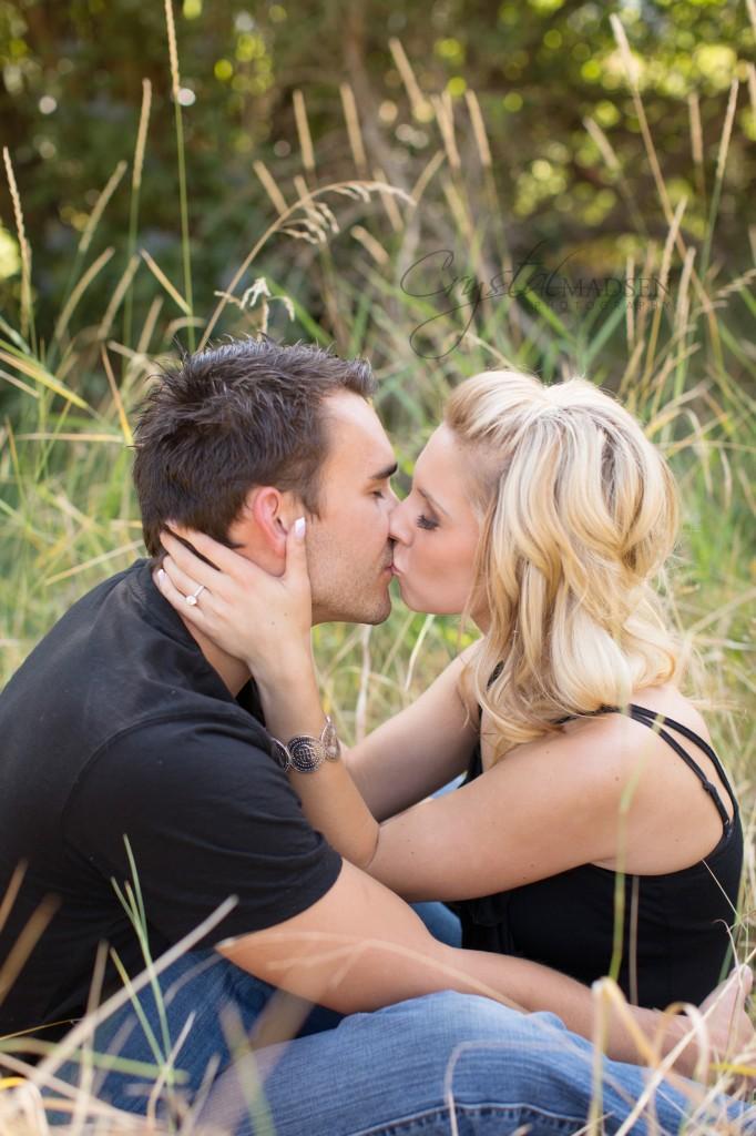 Engagement Kisses