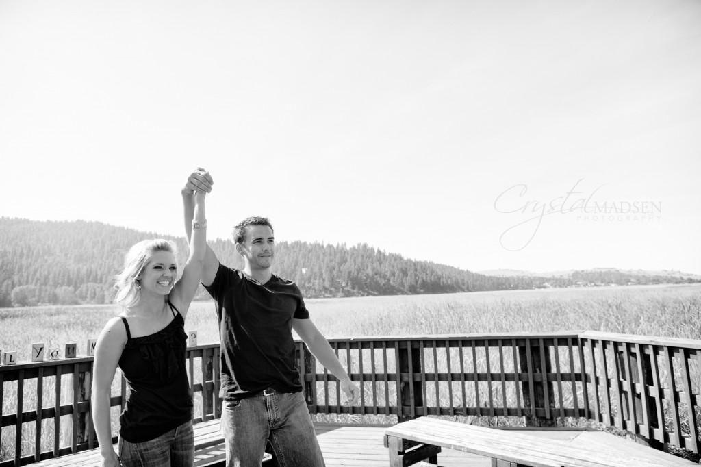 Liberty Lake Engagement