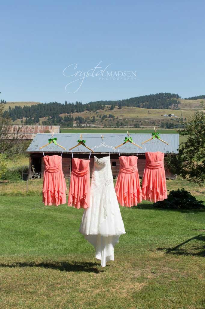 Dresses in the Hillside