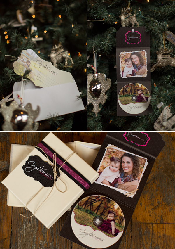 Photography Gift Certificates and Packaging