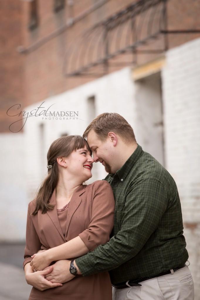 Romantic Engagement Pose