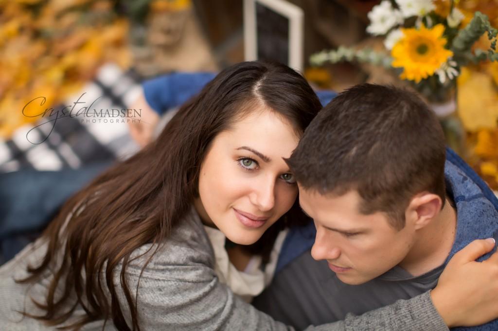 Romantic Spokane Engagement