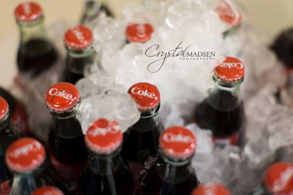 Coke Bottle Wedding