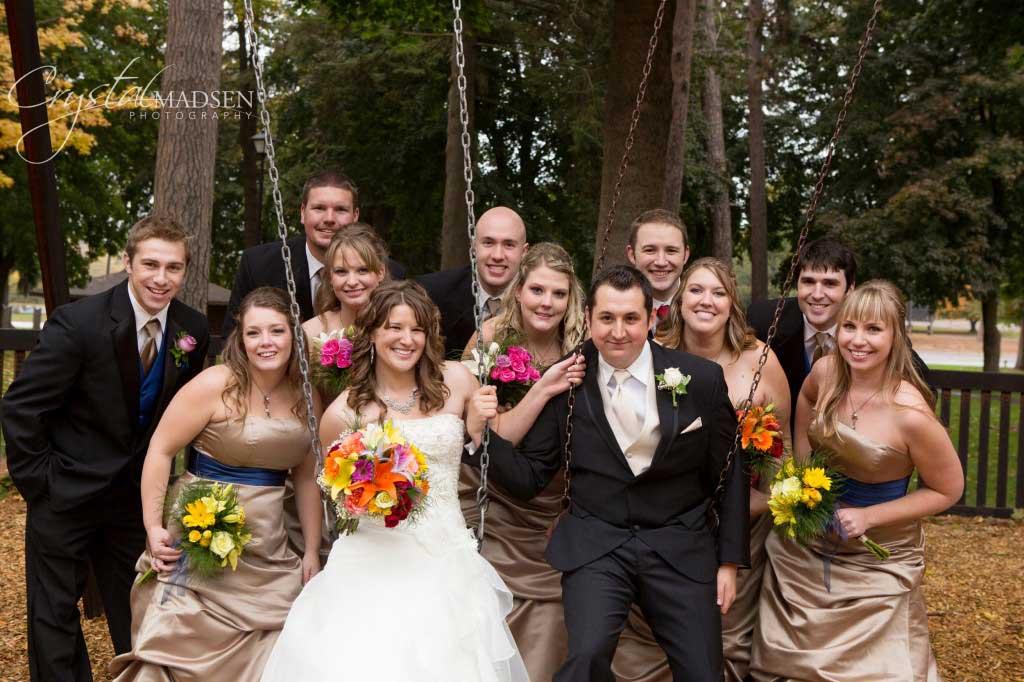 Playground Spokane Wedding