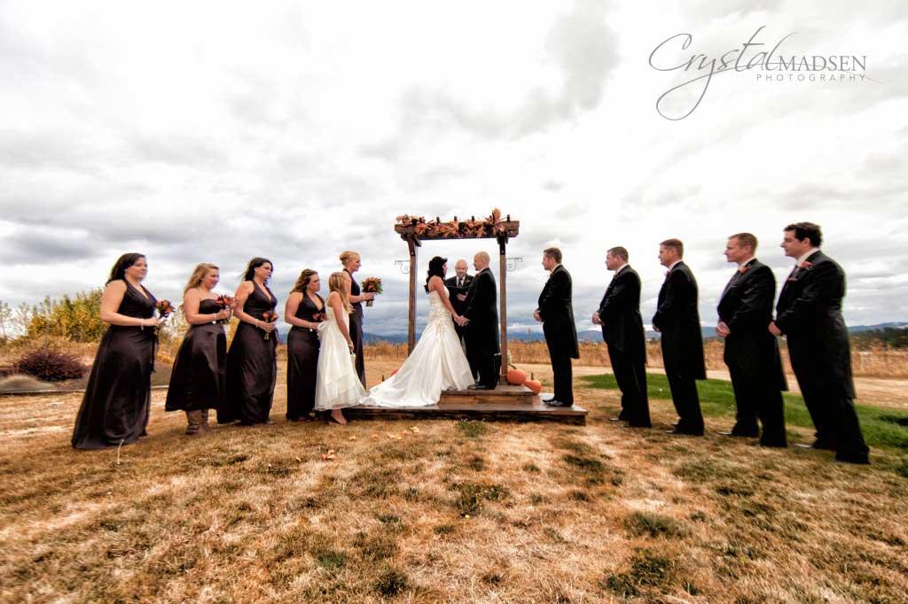 Trezzi Farm Autumn Wedding