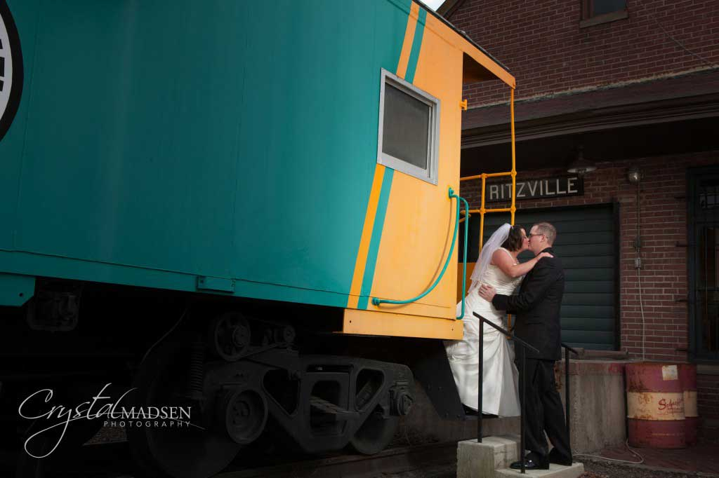 Caboose Wedding