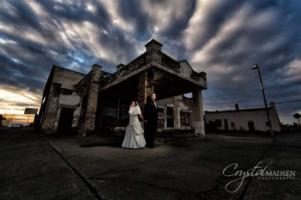 Abandoned Building Wedding