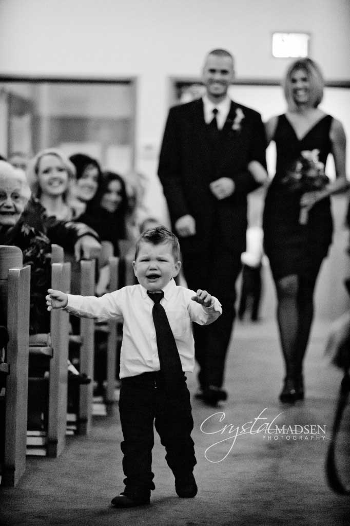 Crying Ring Bearer