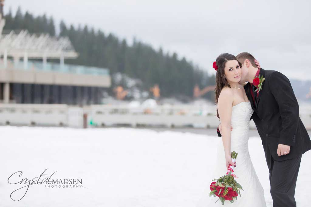 Winter Coeur d'Alene Weddings