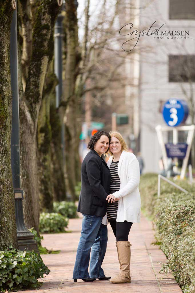 Downtown Portland Engagement Session