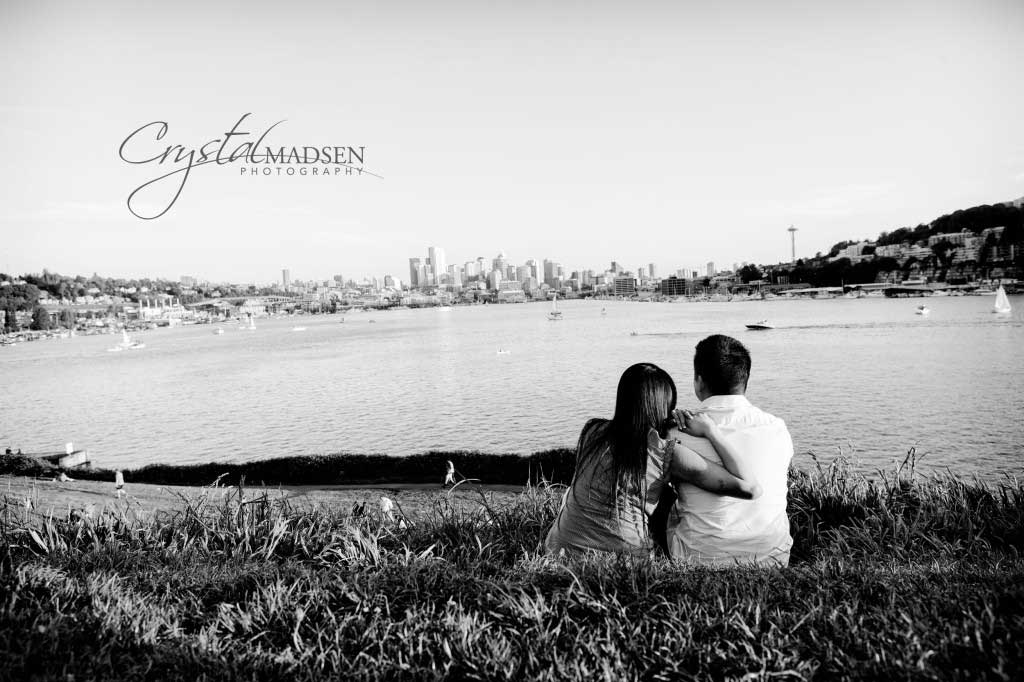Beautiful Seattle Engagment