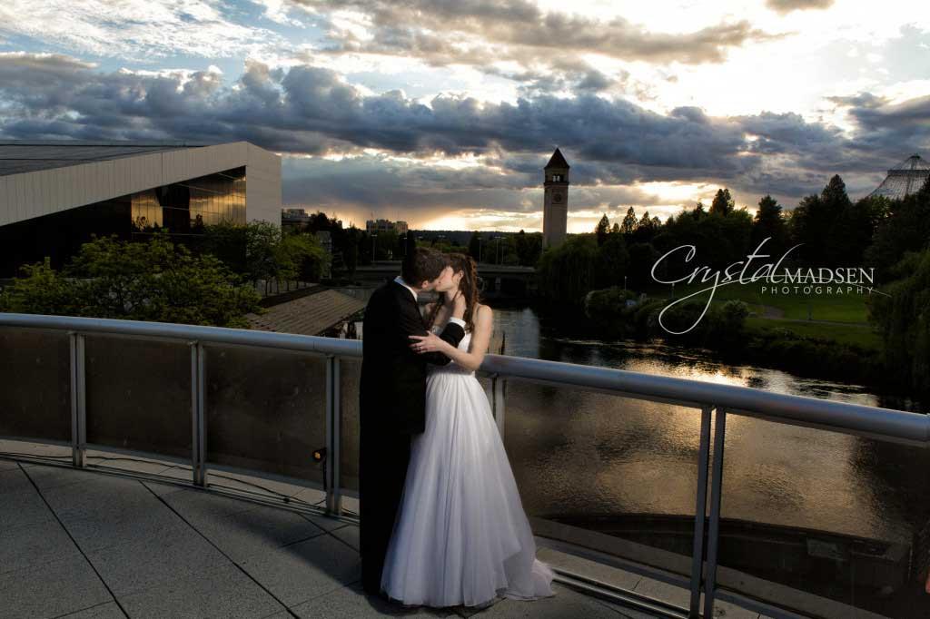 Rooftop Weddng in Spokane_016