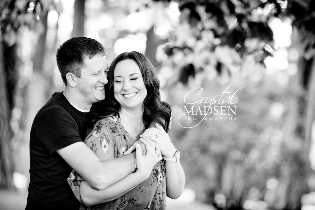 Loving Spokane engagement