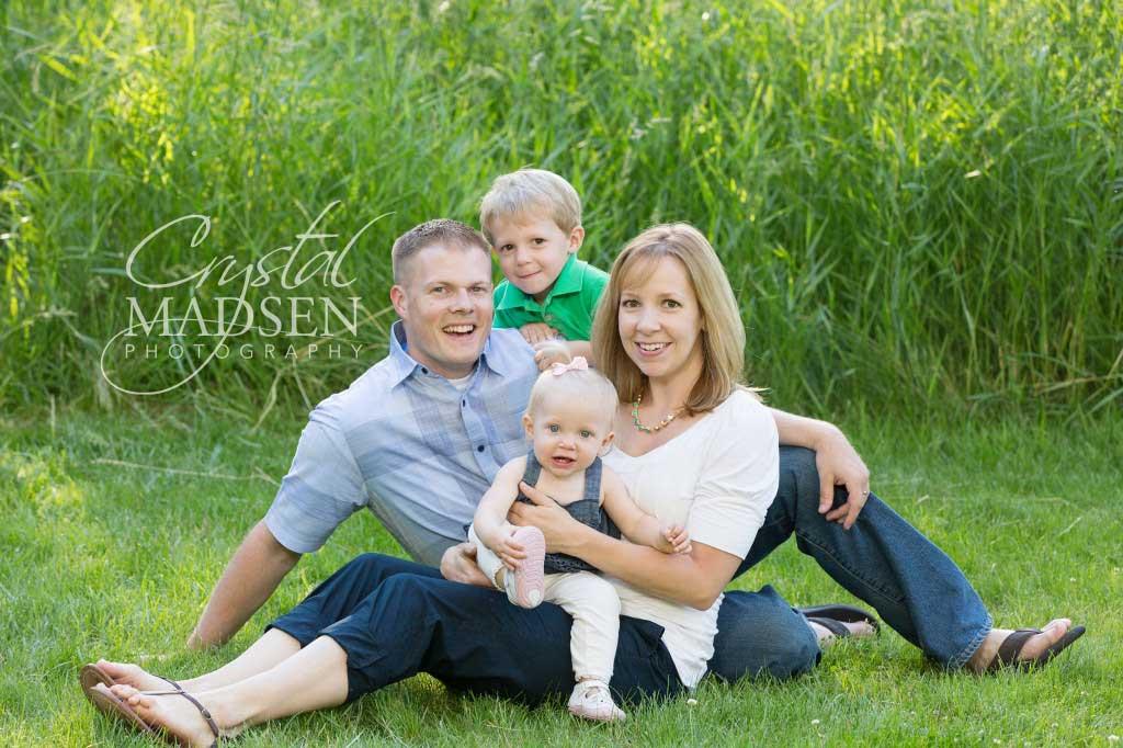 Cute Spokane family Session