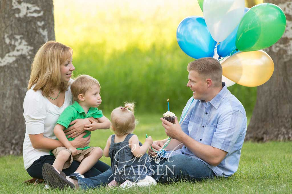 Cute Spokane family session