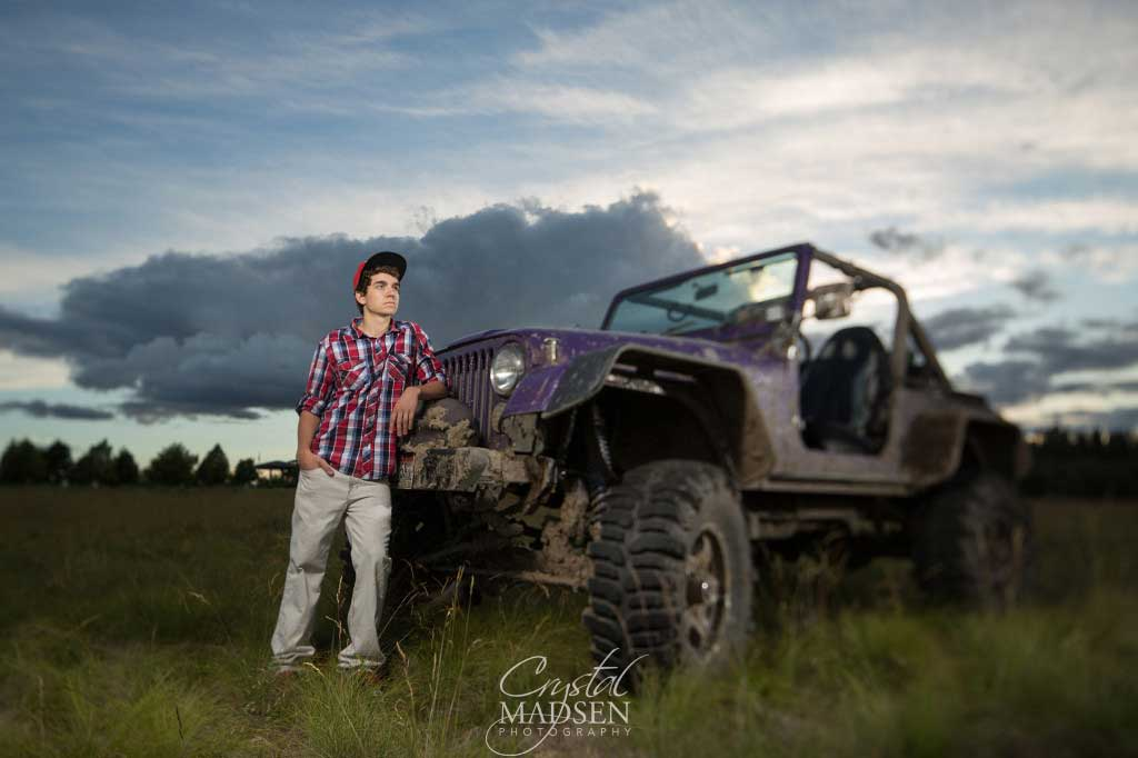 Awesome Spokane Senior Session