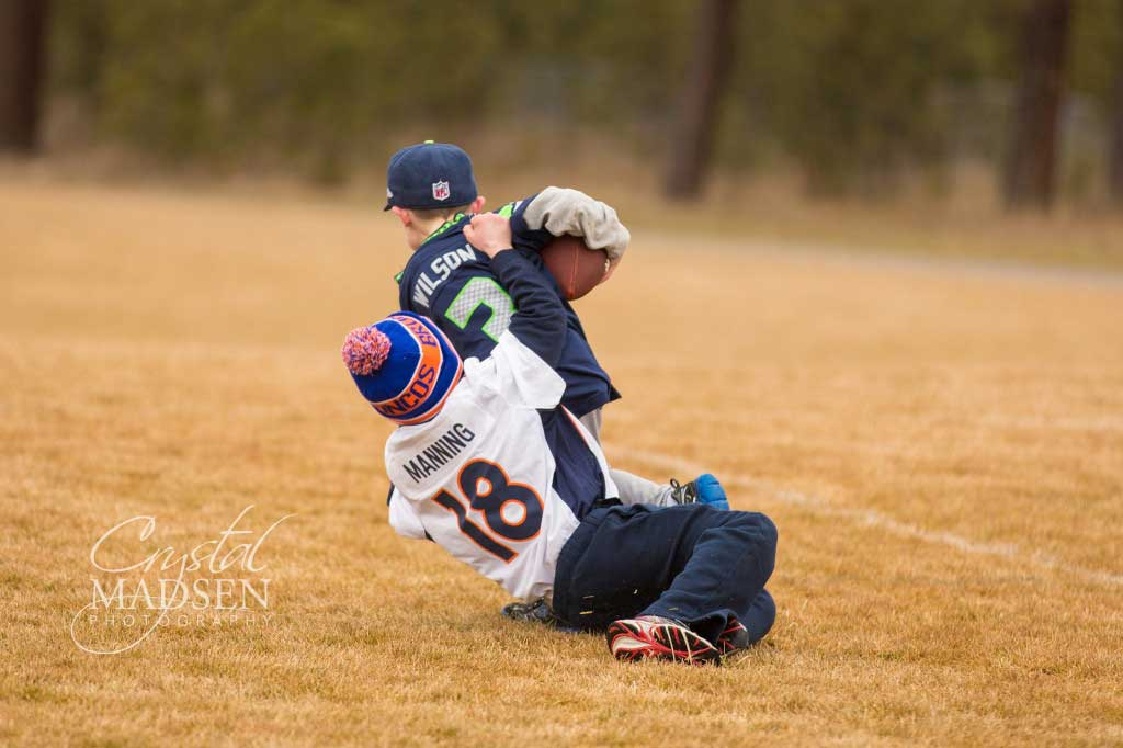 Manning Tackles Wilson