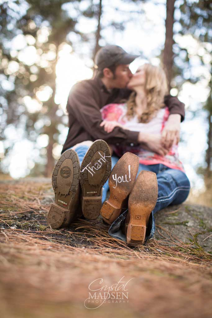 Spokane Country Engagement Crystal Madsen Photography