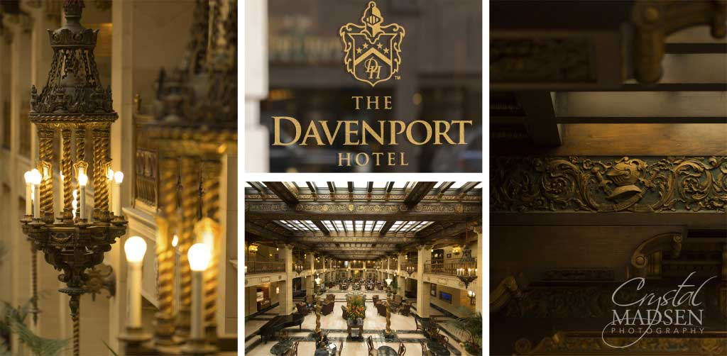 Davenport Hotel Wedding Details