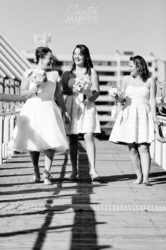Candid Bridesmaid photos
