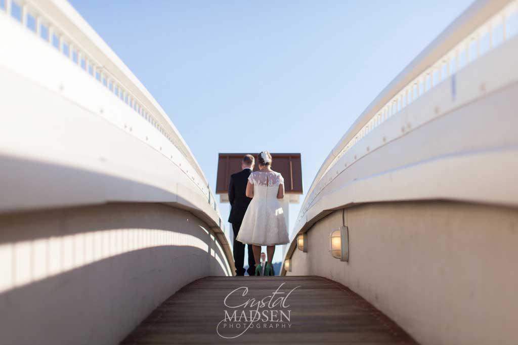 Weddings Coeur d'Alene Boardwalk