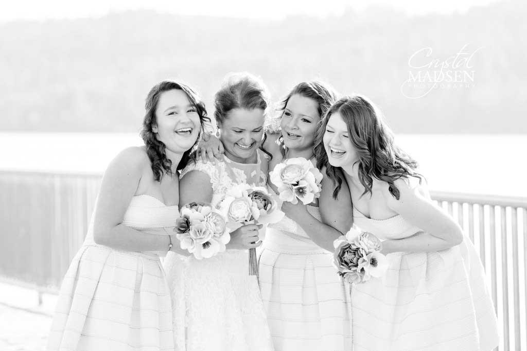 Bridesmaids Spokane Wedding