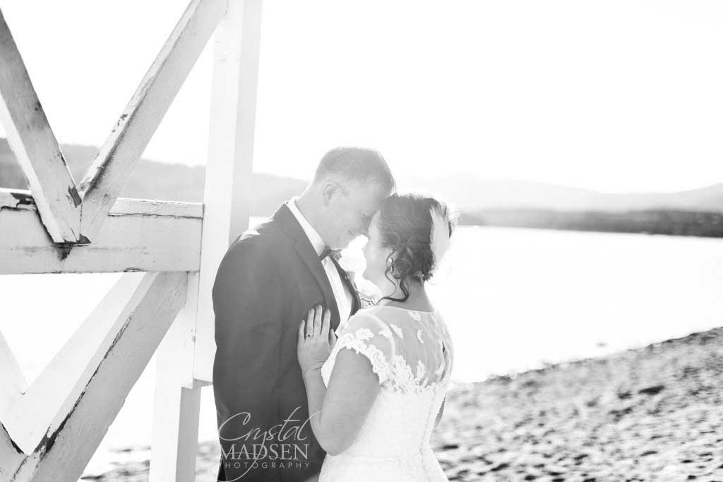 Romantic Lakeside Wedding
