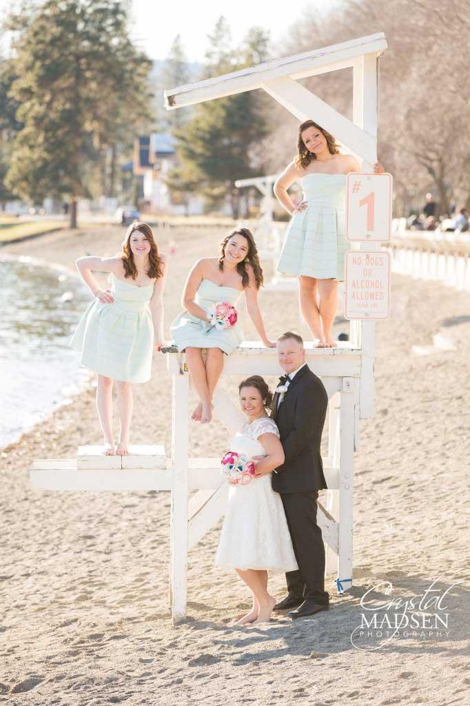 Coeur d'Alene Lakeside Wedding