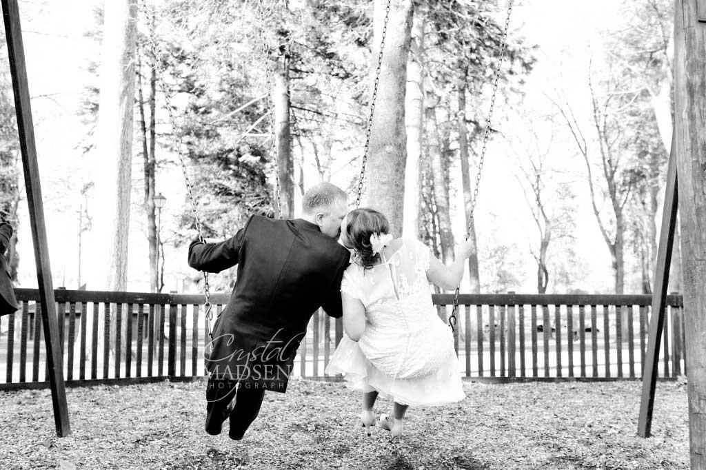 Swingset Wedding