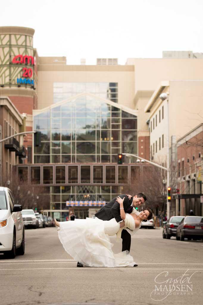Urban Wedding Photo