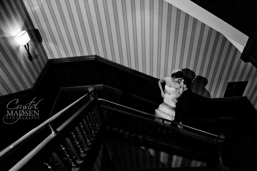 Black and White Romantic Wedding Photos