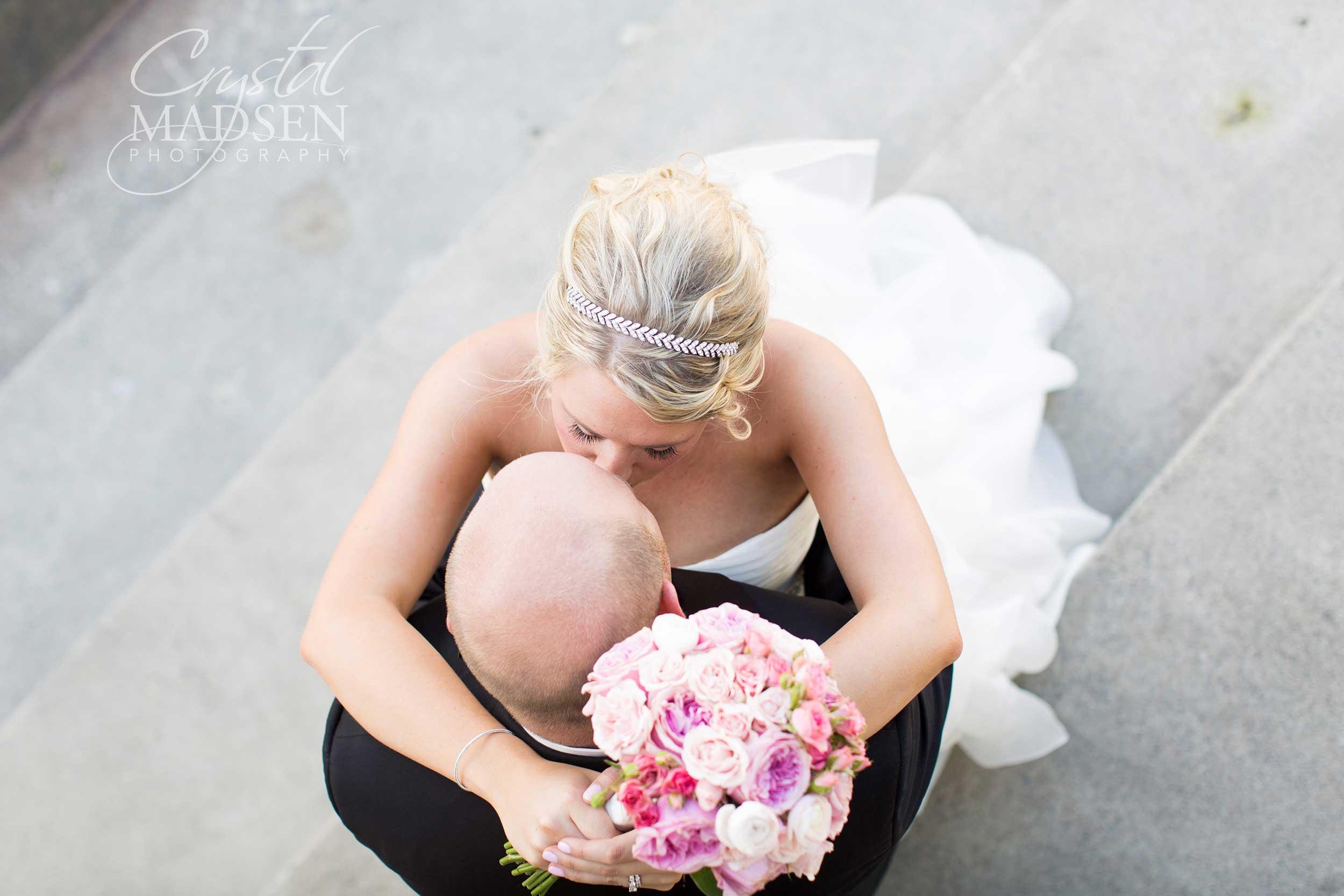 ariel wedding angle