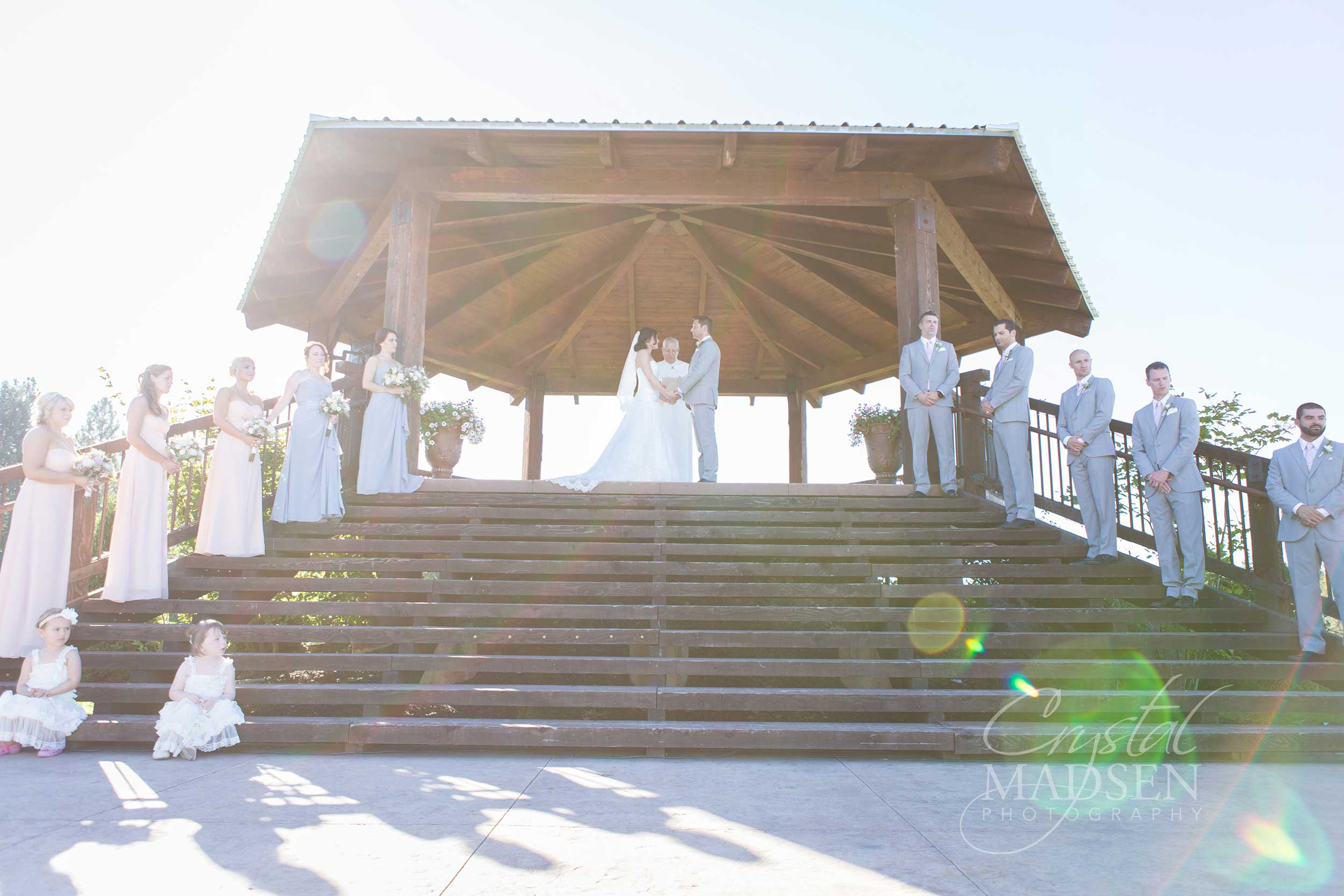 Sunny Wedding Photos