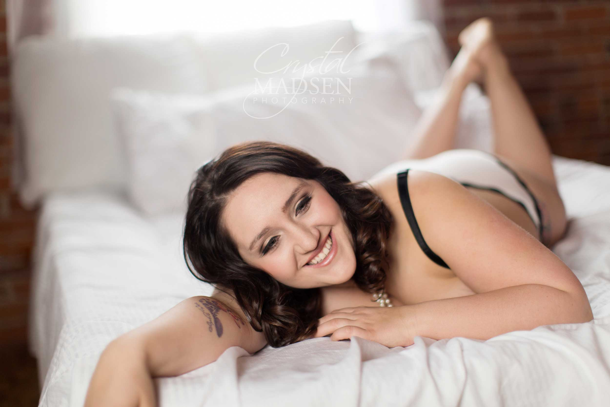 Fun Boudoir Photography