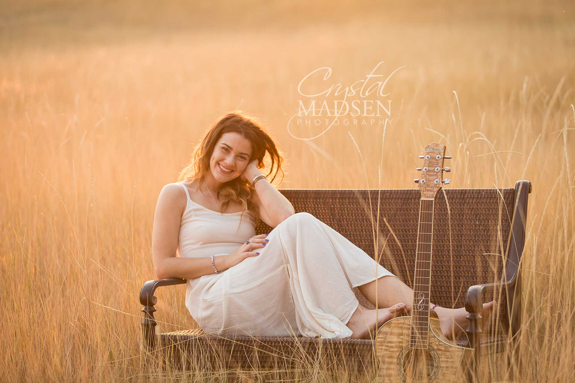 guitar senior portraits spokane