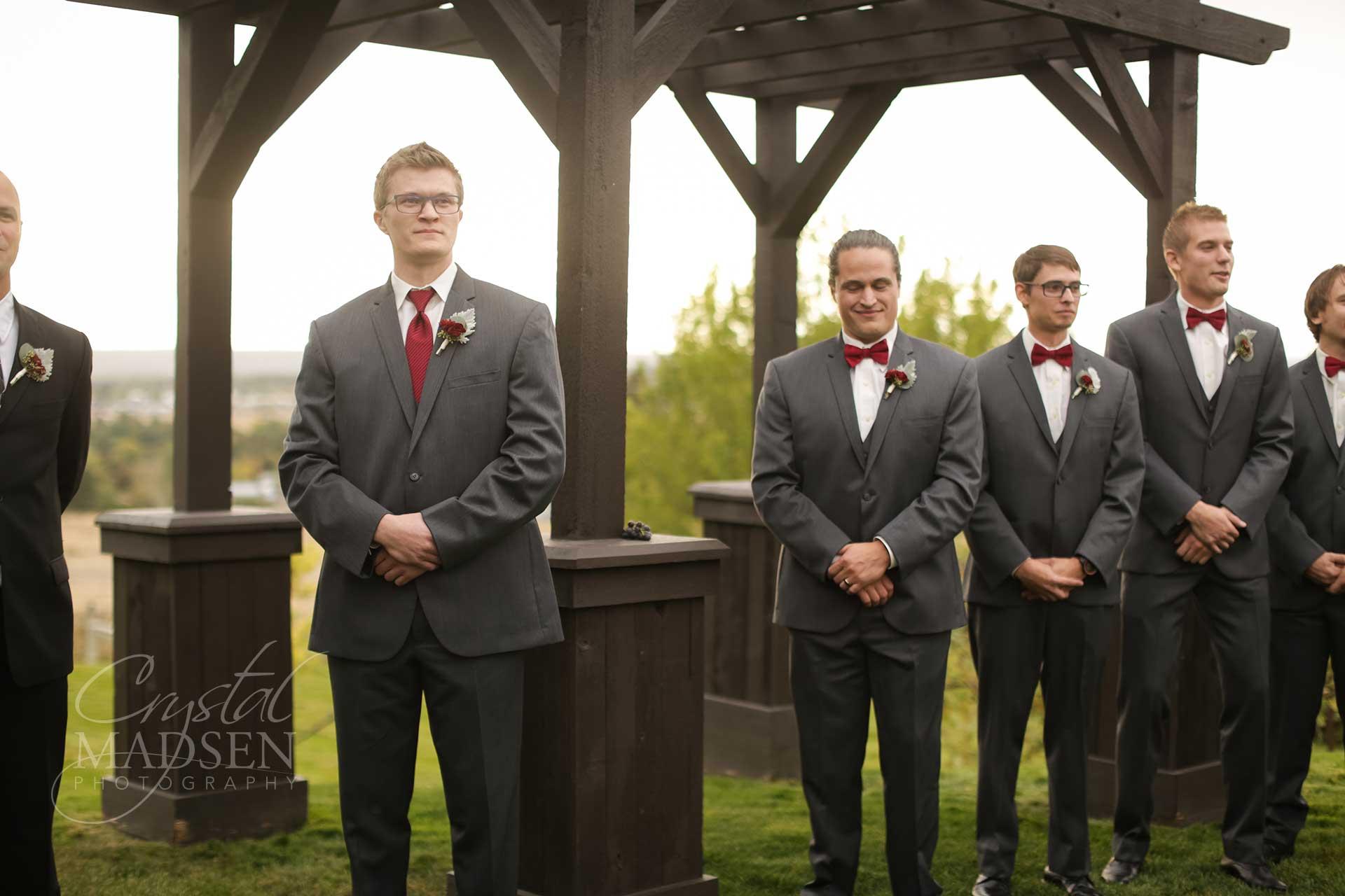 Vineyard Wedding Beacon hill Spokane