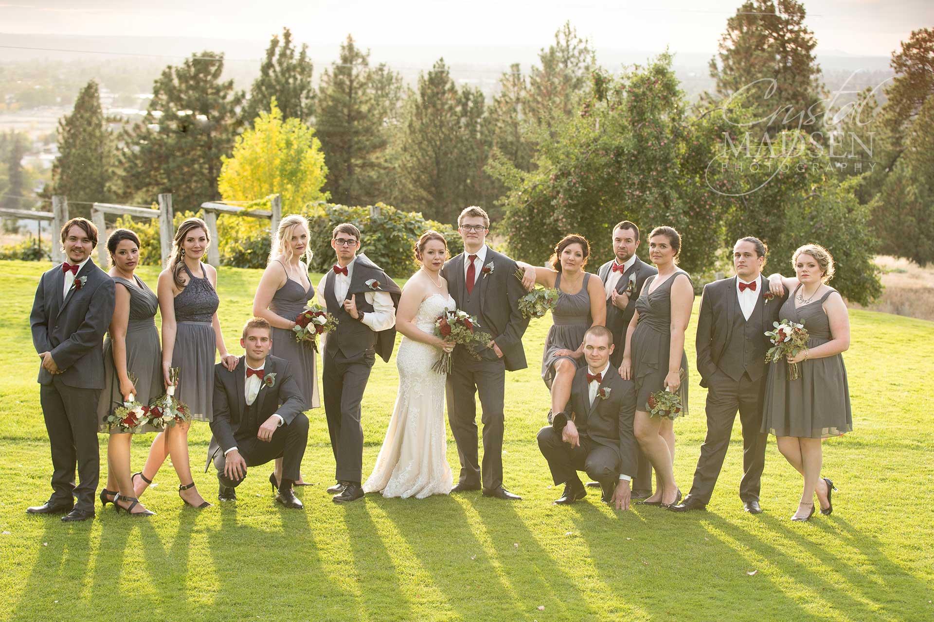 Bridal Party in Spokane