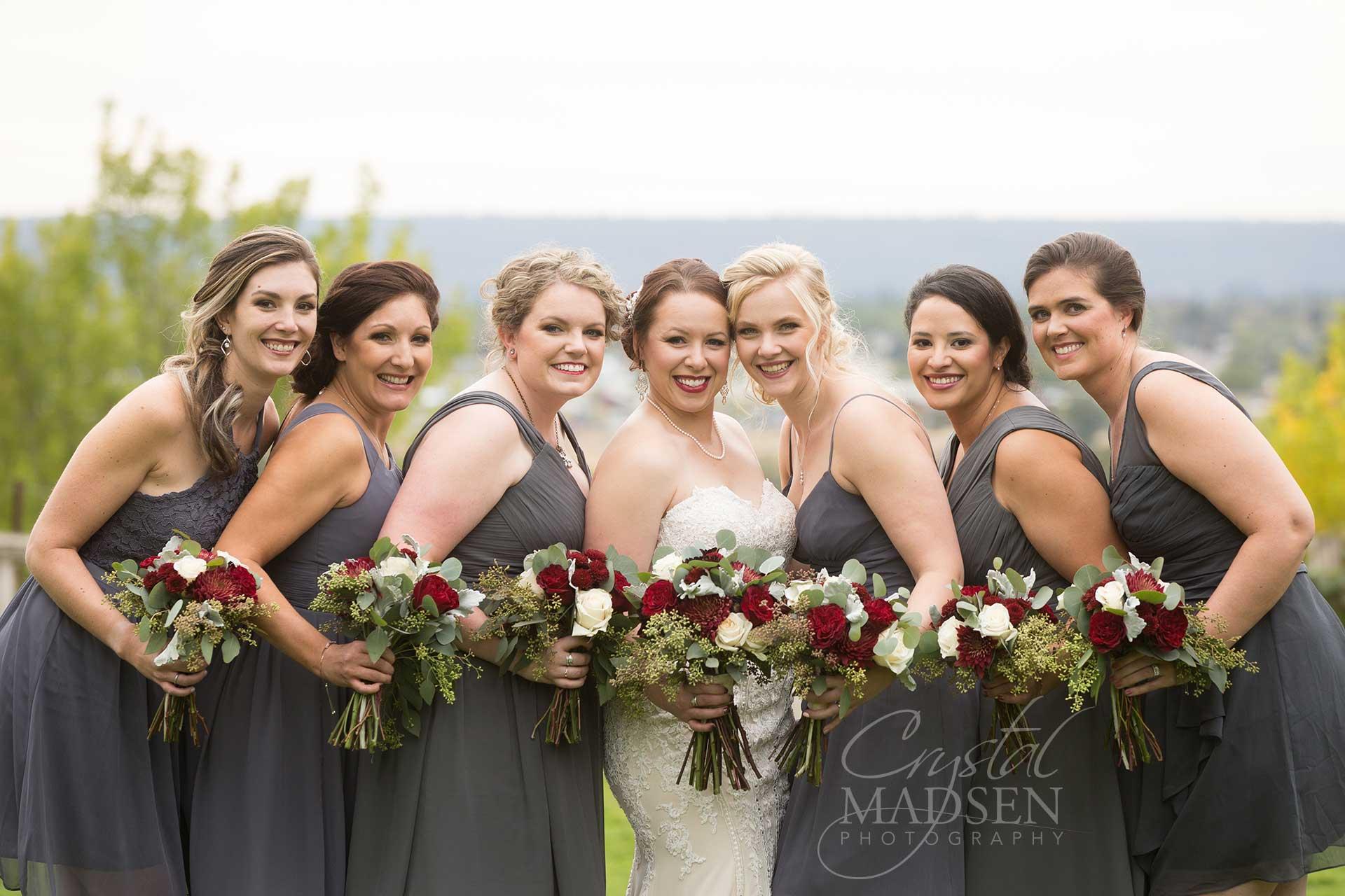 Bridesmaids in spokane