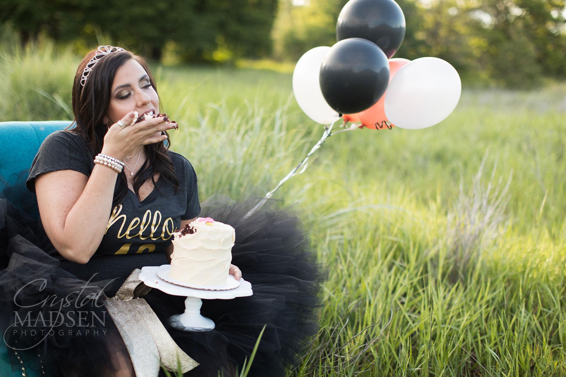 milestone birthday cake smash